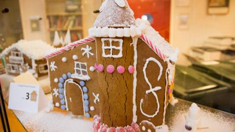 The Annual Gingerbread House Competition